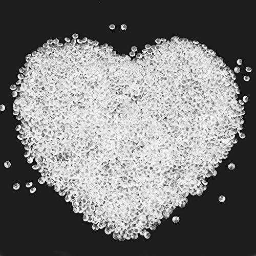 LYTIVAGEN 3000 Stücke Deko Diamanten Kristalle Diamanten 6mm Transparent Acryl Diamanten für Hochzeiten, Kommunionen, Partys