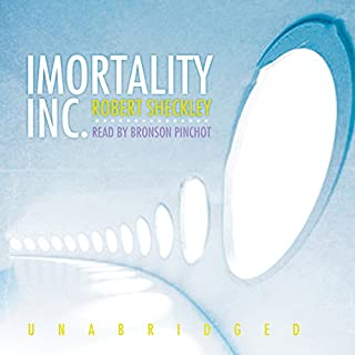 Immortality, Inc. audiobook cover art