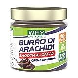 Why Nature Burro Di Arachidi, Crema Spalmabile 350 Grammi (Smooth Al Cacao)