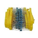 KKHMF 600PCS 電子部品抵抗バッグ 1/4W金属膜 1%五色環 30種類各20pcs「国内配送」