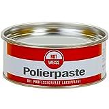Rojo y blanco 1100 ROT WEISS pasta pulidora 200 ml, sin siliconas