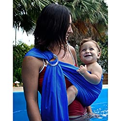 a05c56550cc The Biubee Water Sling baby carrier is made from a mesh fabric and is  designed to be used in and outside the water. The rings of the waterproof  baby sling ...