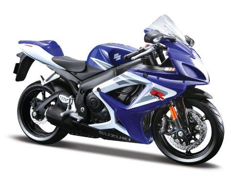 Bauer Spielwaren - Motorrad-Modellbausätze in Blau, Größe 17