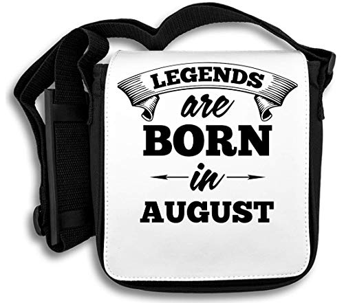 Legends Are Born In August schoudertas
