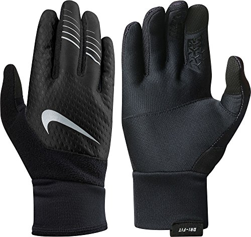 Nike Women's Therma-FIT Elite Gloves 2.0, (Black/Cool Grey, L)
