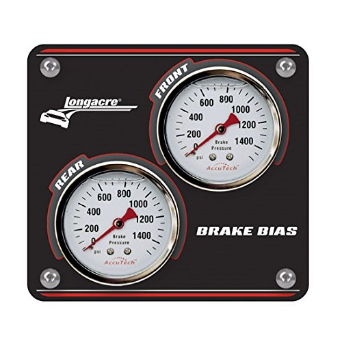 Big Save! Longacre 52-44124 Mini Brake Bias PanelBlack