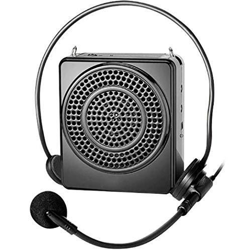Megáfono portátil, guía megáfono, auriculares con cable, la...