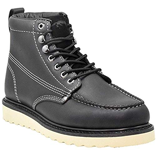 Golden Fox Men's Premium Leather Soft Toe Light Weight...