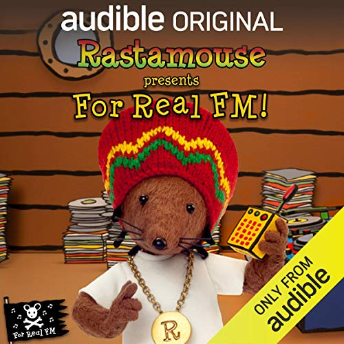 Rastamouse presents For Real FM audiobook cover art