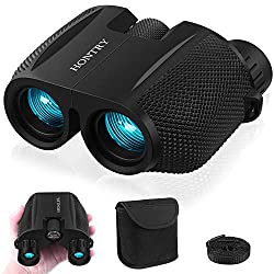 powerful Binoculars for adults and children, bird watching, compact 10×25 binoculars for theaters, concerts, …