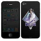 Folie kompatibel mit Apple iPhone 4s Aufkleber Skin aus Vinyl-Folie Prinzessin Disney Star Wars