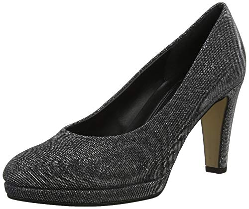 Gabor Damen Fashion Pumps, Grau (Argento 69), 39 EU