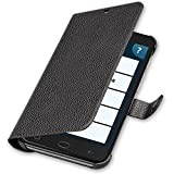 Amplicomms Smartphone Faux Leather Protective Case with