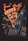 1art1 Ilustrata - Pizza Kong Poster 91 x 61 cm