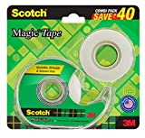Great for permanent mending of torn paper, gift wrapping, covering note books, arts and craft assignments, class projects, sticking decorations or time tables, light sealing etc. It is Invisible on most of the paper and won't show on photocopies Can ...