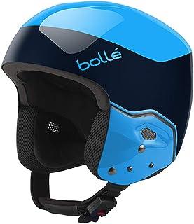 Bolle 31400 Winter Medalist Flash Ski Helmet (FIS Approved), Navy/Cyan, Size 59-60