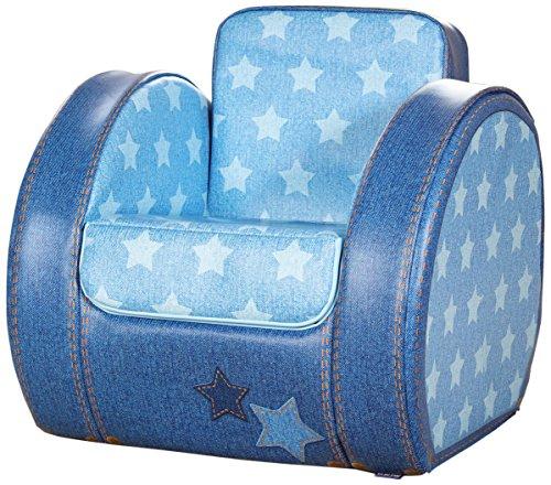 Kit for Kids Chaise pour Tout-Petit Blue Denim Imprimé