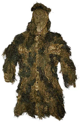Red Rock Outdoor Gear 2-Piece Ghillie Suit Parka, Woodland, Medium/Large