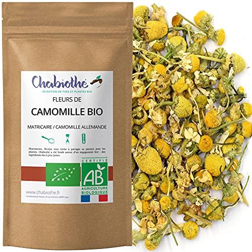 Té Infusion Manzanilla BIO 100g - Organico Matricaria Chamomilla
