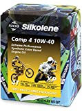 (NEW 2015 XP Version) Fuchs Silkolene Motorcycle Comp 4 10W-40 Synthetic Motorbike Engine