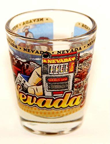 Nevada State Wraparound Shot Glass
