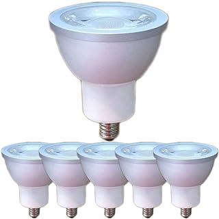 VIMTECH LED電球 EZ10口金 12V COB6W JR50 LEDスポットライト 中角30度 ハロゲン形50W~60W相当 密閉器具対応 (昼白色相当(5000K), 6W EZ10口金(6個セット))