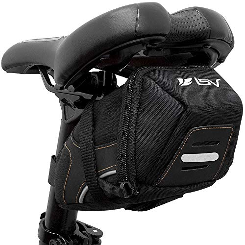 BV Bicycle Y-Series Strap-On Bike Saddle Bag/Bicycle Seat Pack Bag