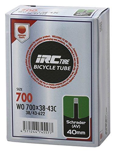 IRC BICYCLE TUBE 700X38-43C 米式40mmバルブ 28970J