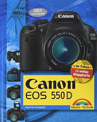 Canon EOS 550D - Mit 12-seitiger Klappkarte (Kamerahandbücher)