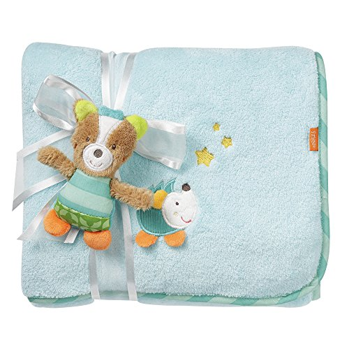Fehn Couverture Caresse Sleeping Forest Renard