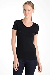 Armani Jeans Cotton Round Neck T-Shirt For Women
