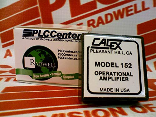 Review Of CALEX 152 Operational Amplifier 10VDC