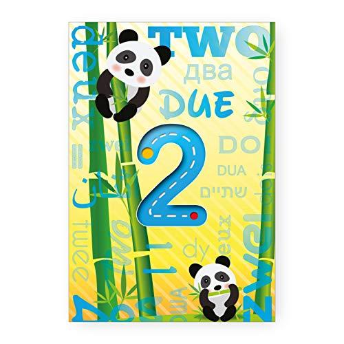 Biglietto Auguri Compleanno Bimbi 2 Anni