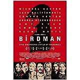 HJZBJZ Film Birdman Poster und Drucke Bilder Wandkunst