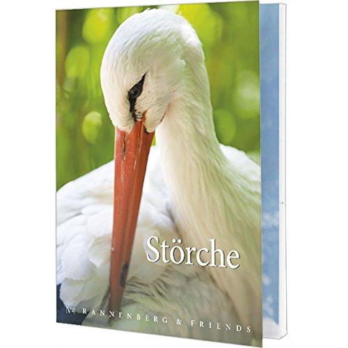 Postkartenbuch Störche, Postkarte Ansichtskarte, Storch