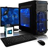 VIBOX Oblivion Pack 23 PC Gamer - 4,2GHz Intel i7 Quad Core CPU, GTX 1060, VR prêt,...