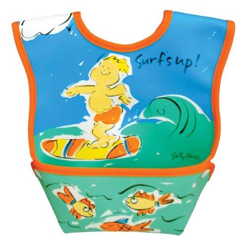 Dex Baby Dura Bib - Stage 1 - Small 3 - 12 Months (Surfs Up)