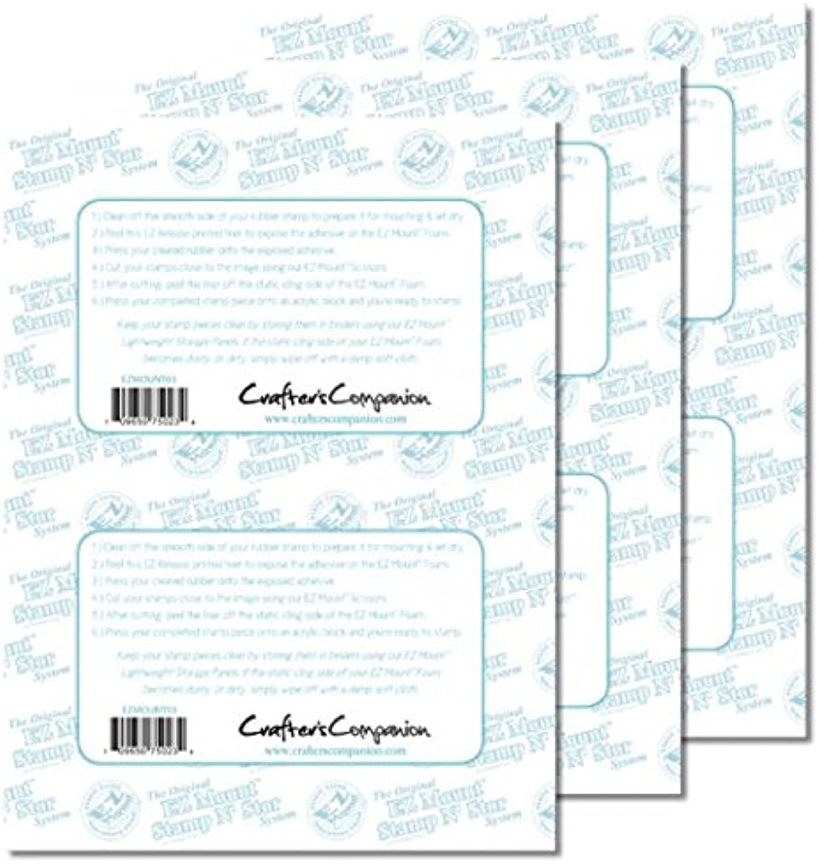 10 x EZMount EZMount EZMount Foam Rubber Stamp Block Mounting Adhesive Cling Sheets 8.5  x 11  B00L7NTDH0 | Lebendige Form  8382dd