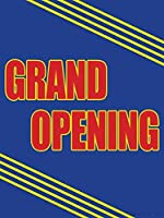 Grand Opening Retail Display Sign 18w x 24h Full Color 5 Pack [並行輸入品]