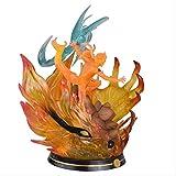 Huhu Naruto Anime Modelo Naruto Shippuden Gk Uzumaki Naruto Figura Espiral Shuriken acción 34 Cm Est...