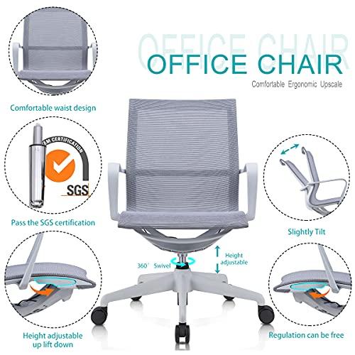 HedoAjim Swivel Chair Height Adjustable