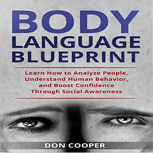 Body Language Blueprint audiobook cover art