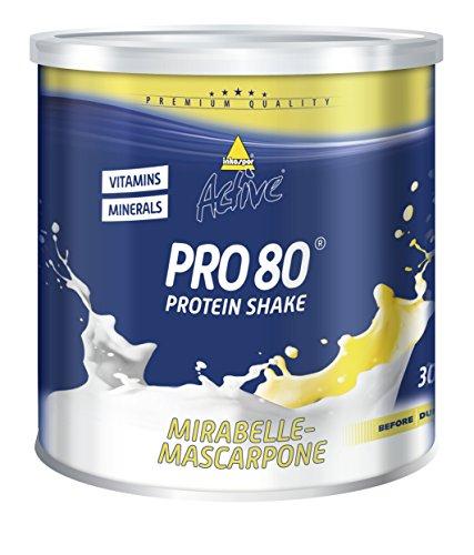 Inkospor Active Pro 80 Protein Shake, Mirabelle-Mascarpone, 750g Dose
