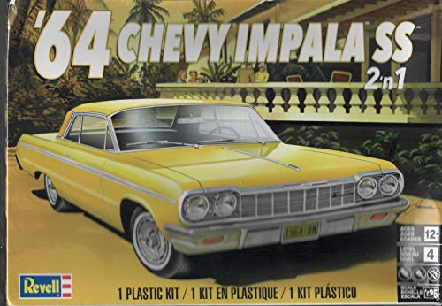 Revell 4487 64 Chevy Impala SS Model Car Kit