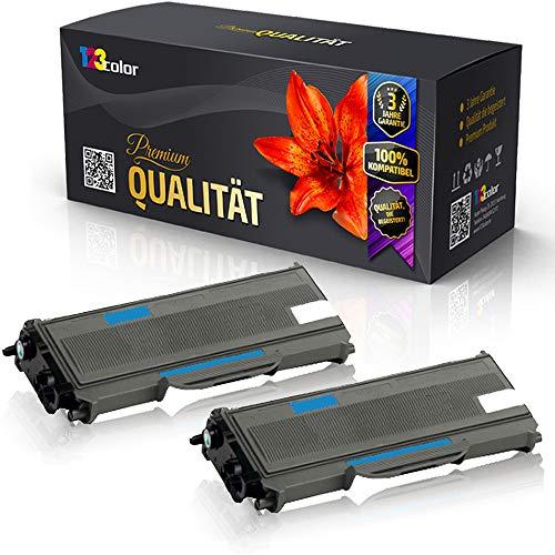 2x Alternative Tonerkartuschen für Brother DCP L 2500 D DCP L 2500 Series DCP L 2520 DW DCP L 2540 DN DCP L 2560 DW DCP L 2700 DW TN 2360 Doppelpack