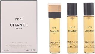 Chanel Nº 5 Eau de Toilette Vaporizador De Sac 3X20ml - Refill