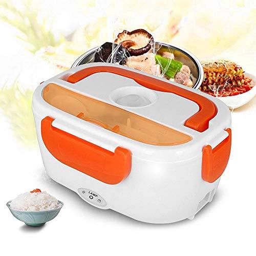 KangHan draagbare elektrische broodtrommel, bento-broodtrommel met levensmiddelenkwaliteit verwarmingscontainer voedingssupplementen voor voedingssupplementen 1,05 l 220 V