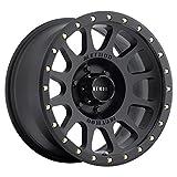 Method Race Wheels NV Matte Black Wheel with Zinc Plated Accent Bolts (17x8.5'/6x5.5') 0 mm offset