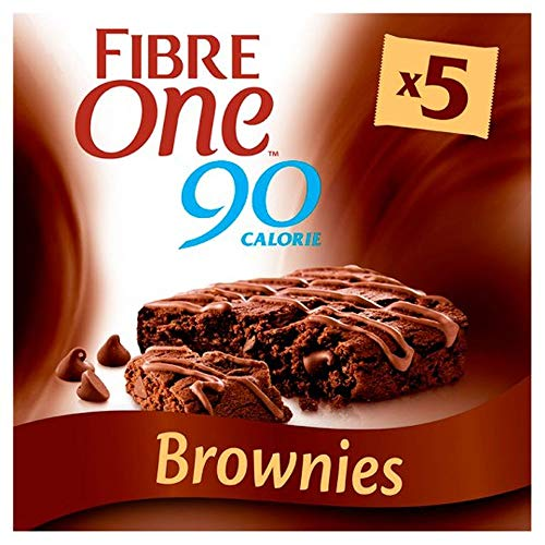 Fibre One 90 Calorie Chocolate Fudge Brownies 5x24g