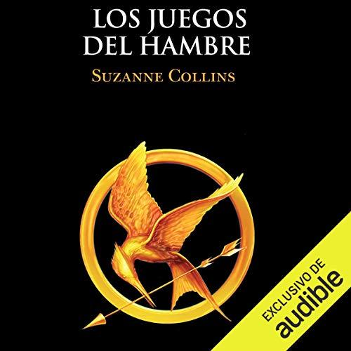 Diseño de la portada del título Los juegos del hambre (Narración en Castellano)